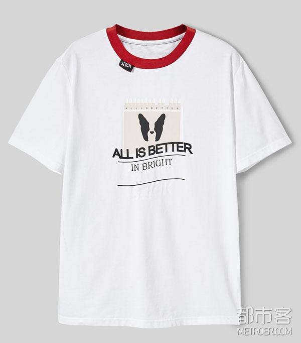 太平鸟 短袖T恤