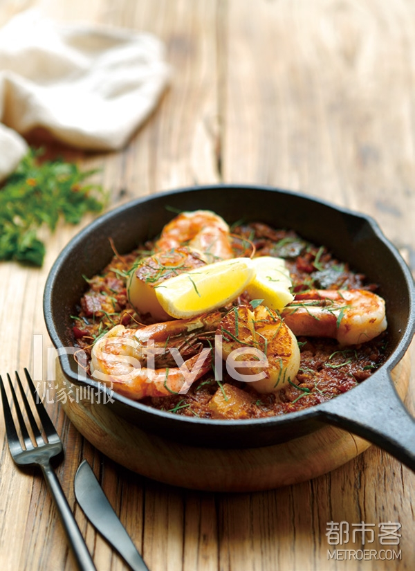 西班牙海鲜花菜