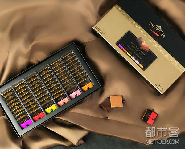 Valrhona 巧克力礼盒66块装