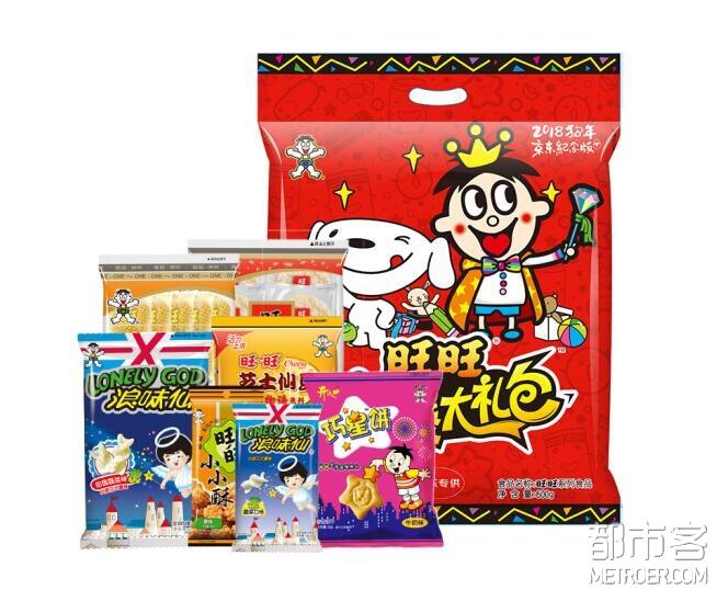 旺旺 京爆零食大礼包