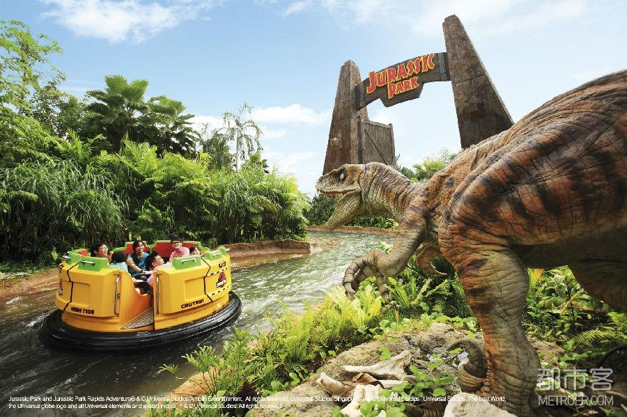 新加坡环球影城的侏罗纪世界:远古探险主题活动