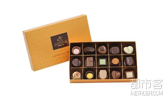 GODIVA歌帝梵 巧克力礼盒15颗装