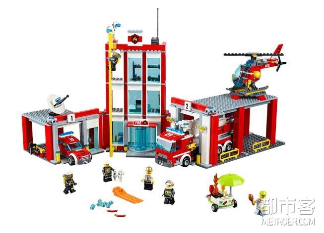 LEGO 乐高 城市组-消防总局