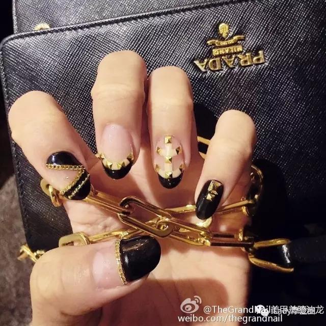 LVxSupreme 美甲 品牌同款 Gucci nike Valentino