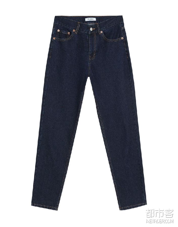 PullAndBear 复古牛仔裤