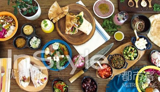 特别青睐中东食物,因为它们的食材都很新鲜,也有很多健康的选择。