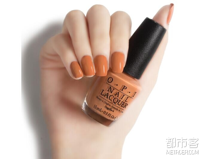 OPI指甲油 暖橙色NLW59