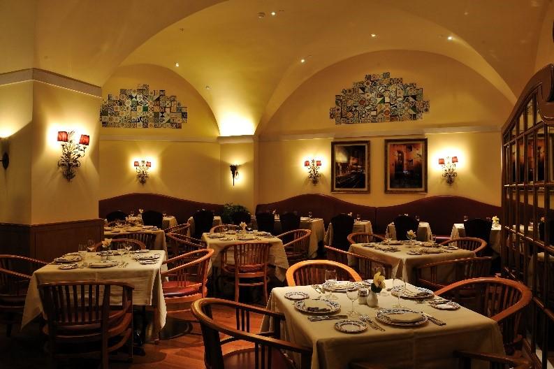 葡轩的装饰和室内设计处处流露着浓厚的葡萄牙色彩。