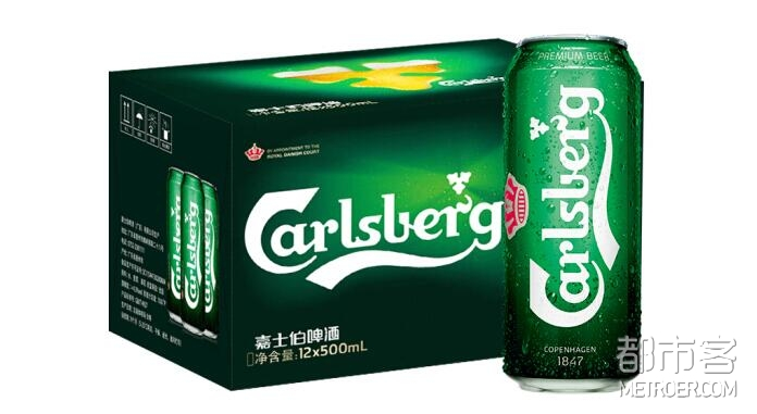 Carlsberg嘉士伯啤酒 500ml*12听