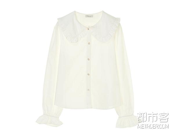 白衬衫这么穿,你也可以又美又撩!