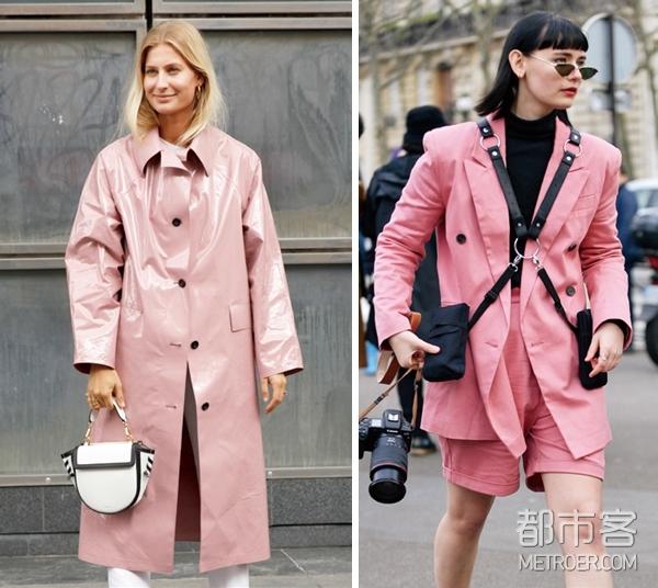 红粉色系穿搭