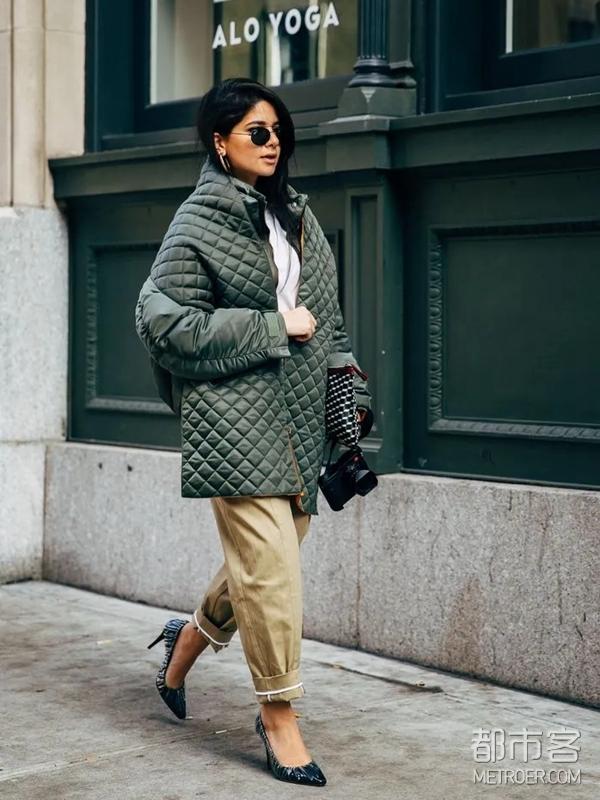 菱格纹外套
