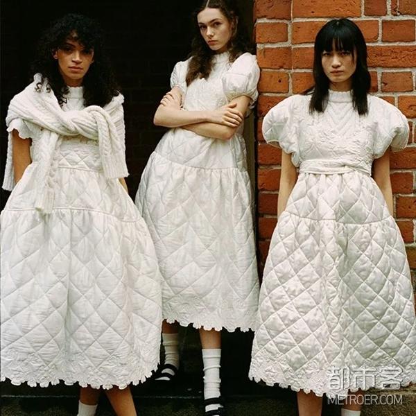 菱格纹裙装