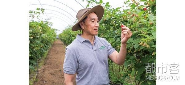 怡颗莓的全球副总裁田仁杰先生